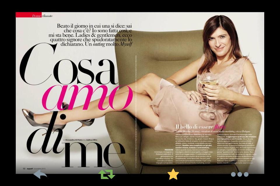 Valeria Moschet Myself Italia